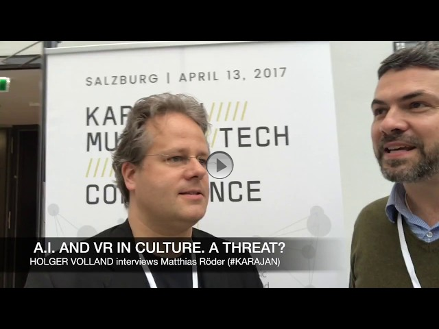THE ARTS+ INTERVIEW: A.I. AND VR IN CULTURE. A THREAT?