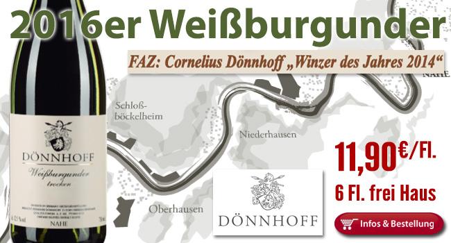 <br /> 2016er Weißburgunder Dönnhoff