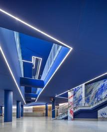 Foyer des Kultur-und Kongresszentrum Liederhalle