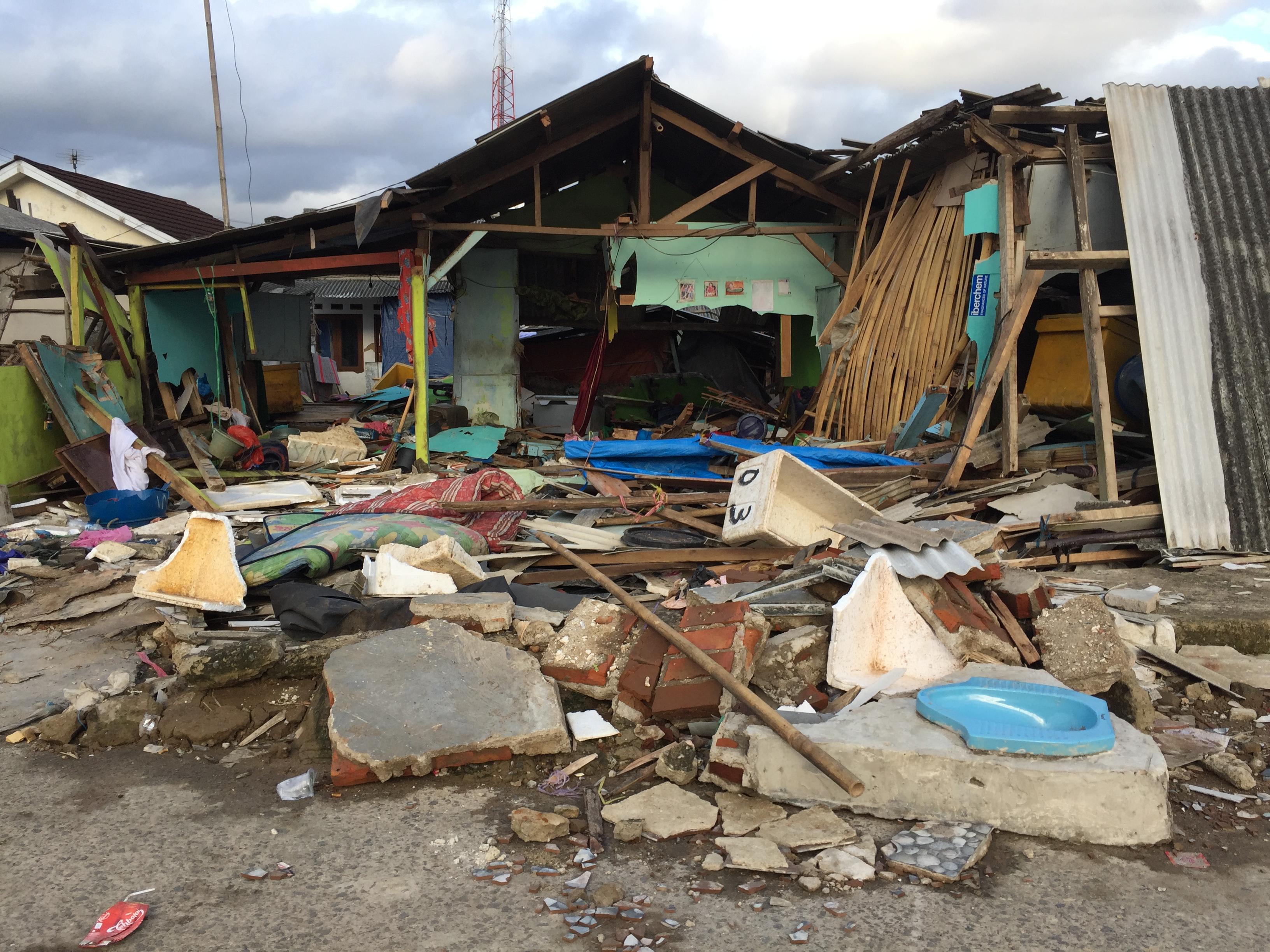 Malteser International Tsunami Indonésie