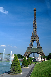 Eiffel Tower , Paris , France