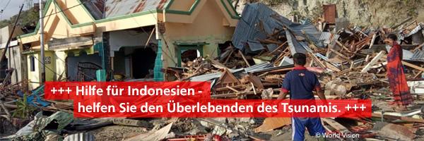 Hilfe für Indonesien