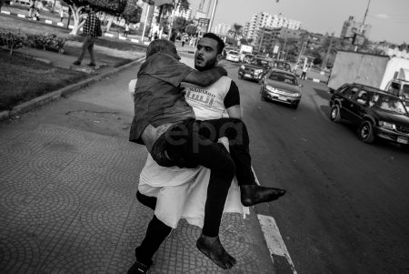 Together to save a human in Egypt