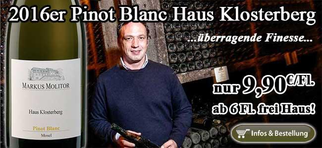 Es gibt keinen feineren Pinot Blanc unter 10€!