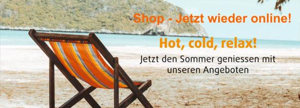 Shop - Jetzt wieder online!