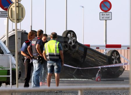 Aftermath of vehicle attack in Cambrils