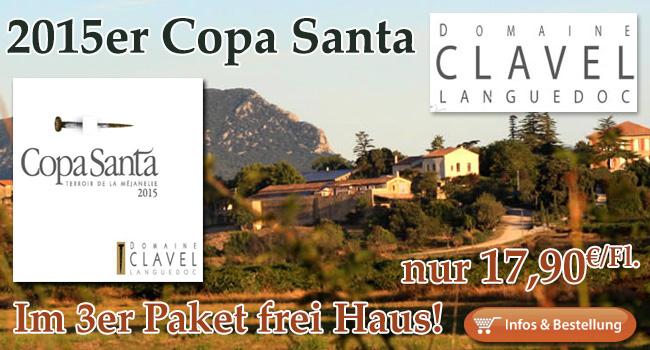 An diesem Wein führt kein Weg vorbei: 2015er Copa Santa - Clavel