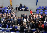Umschichtung passiert den Bundestag