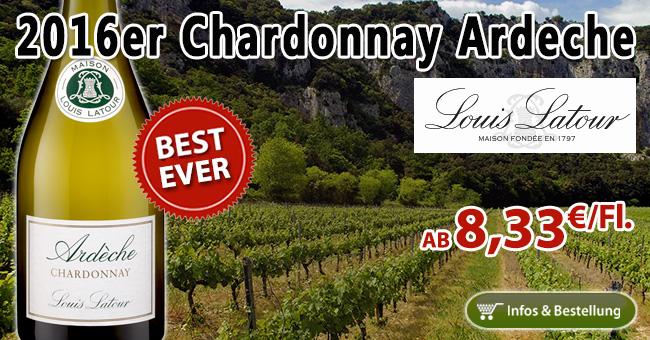 BEST-EVER: 2016er Chardonnay Ardeche – Louis Latour!