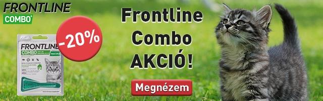 Frontline Combo -20% kedvezménynel