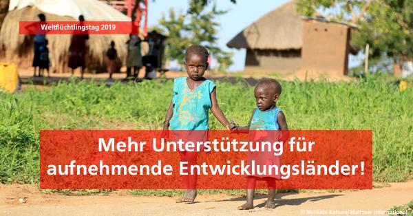 Weltflüchtlingstag 2019