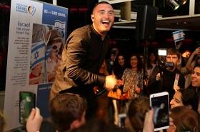 Nadav Guedj bei der FRA-TLV-Party (Foto: Burghardt Mannhöfer)