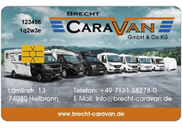 Brecht Caravan Kundenkarte