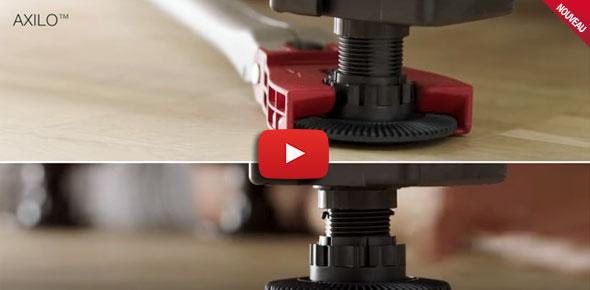 Découvrez l ajustement de pieds de meuble Axilo TM en vidéo