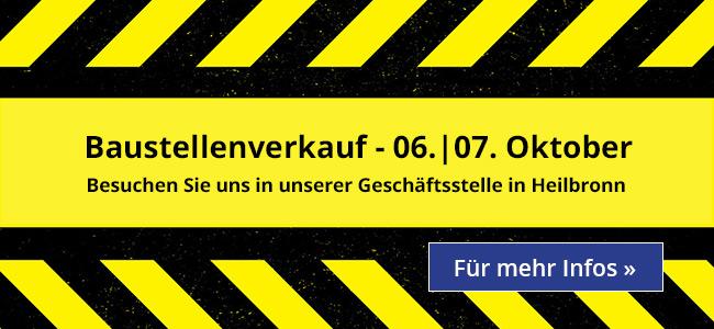 HerbstHausMesse - 06.|07.Oktober! Besuchen Sie uns in unserer Geschäftsstelle in Heilbronn! Für mehr Infos»