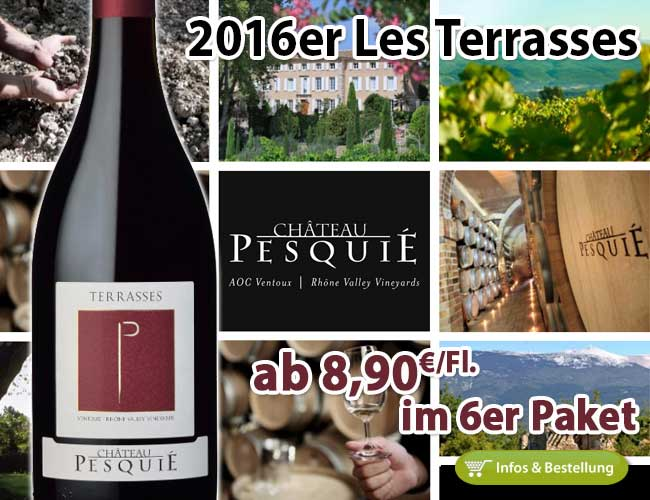 Vorfreude auf den Sommerurlaub: 2016er Les Terrasses – Château Pesquie