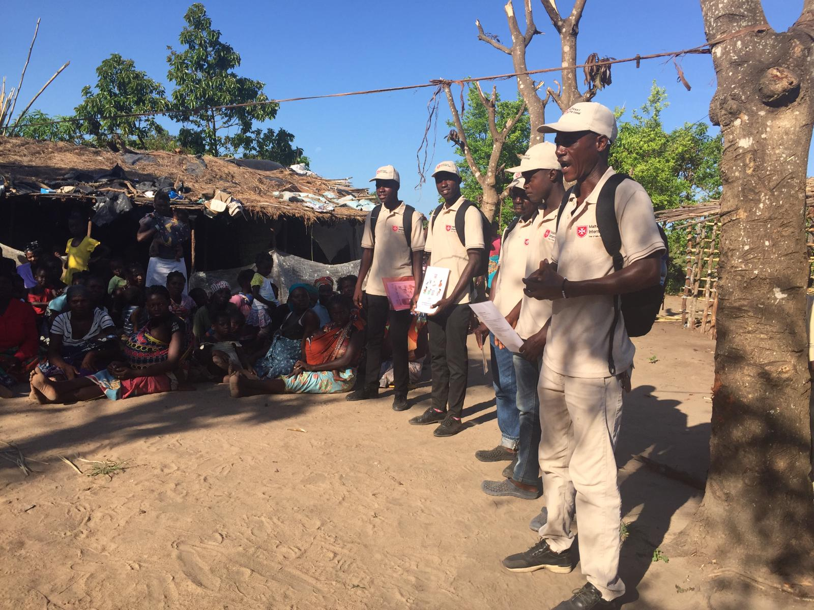 Mosambik Nothilfe