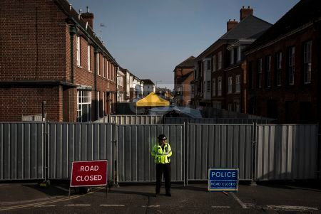 British authorities investigate after couple poisoned by nerve agent