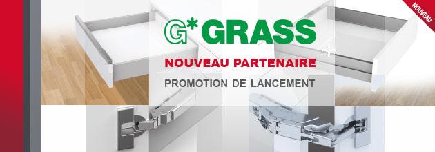 GRASS nouveau partenaire: profitez de loffre de lancement!