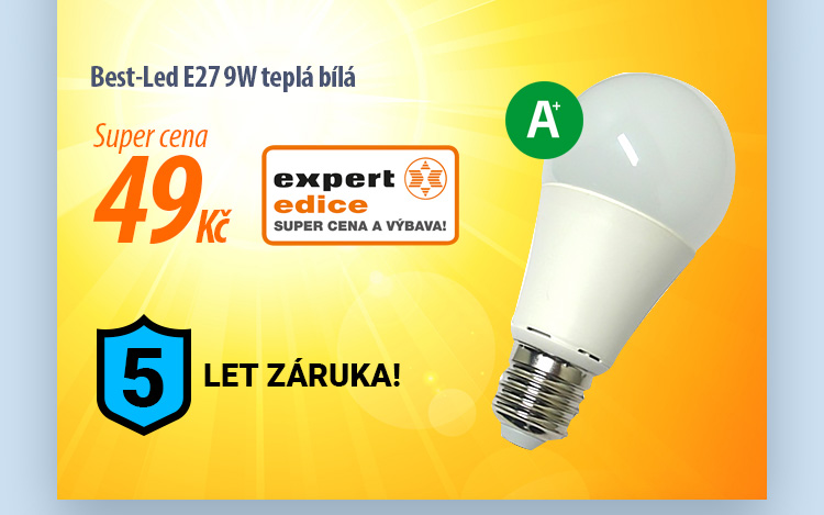 Žárovka Best-Led E27 9W