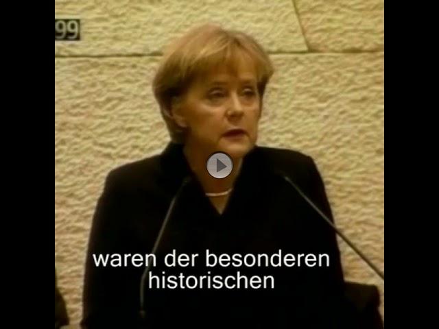 Vor 10 Jahren - Rede von Bundeskanzlerin Angela Merkel vor der Knesset