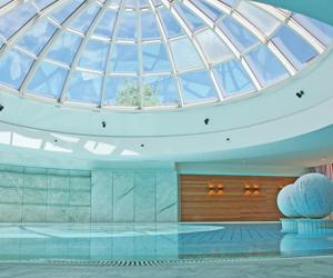 runder Pool im Wellnesshotel Allgäu Sonne