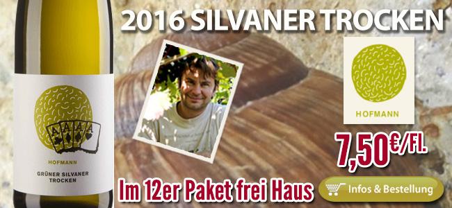 2016er Silvaner Jürgen Hofmann