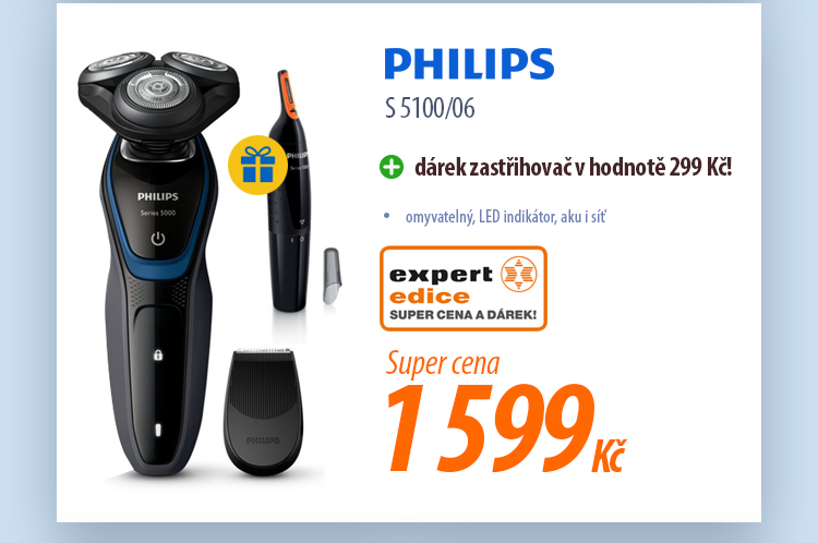 Holicí strojek PHILIPS S 5100/06