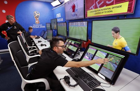 Opening of the 2018 World Cup International Broadcast Center