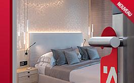 Gamme pour hôtels, brochure des 200 produits design