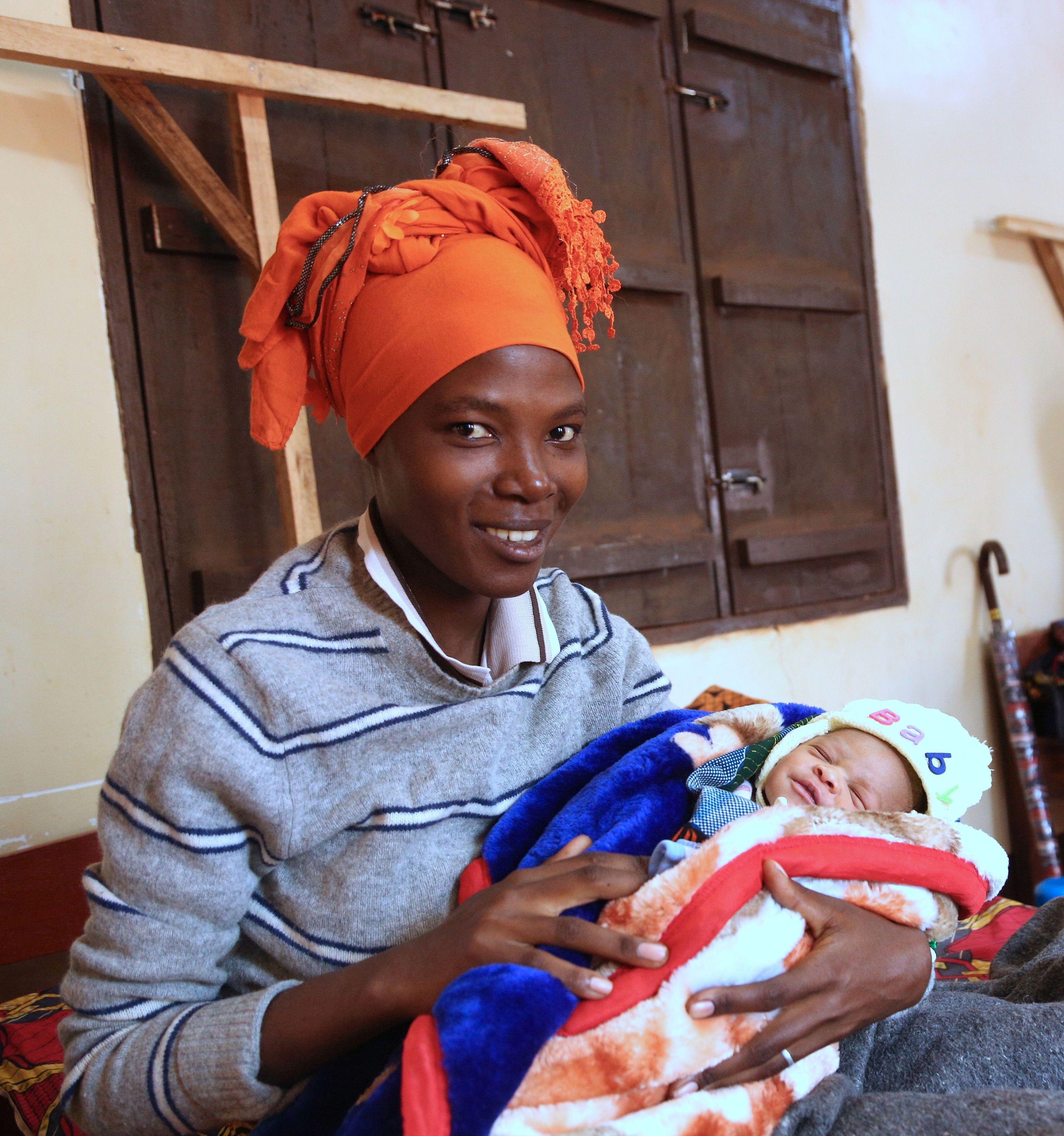 Das schönste Geschenk: Eine sichere Geburt!