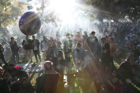 Melbourne Free Cannabis Community 420 Rally