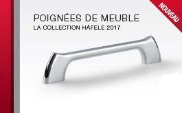 Nouvelle collection de poignées design pour les meubles
