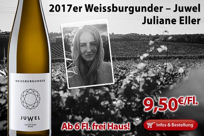 2017er Weissburgunder – Juliane Eller
