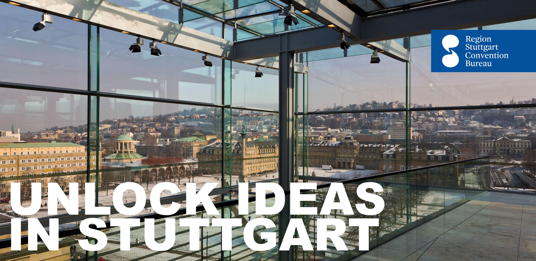 Stuttgart palace square winter art museum