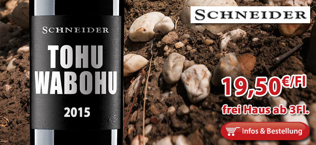 2015er Tohuwabohu - Markus Schneider