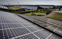 Landesmesse Stuttgart Solarzellen