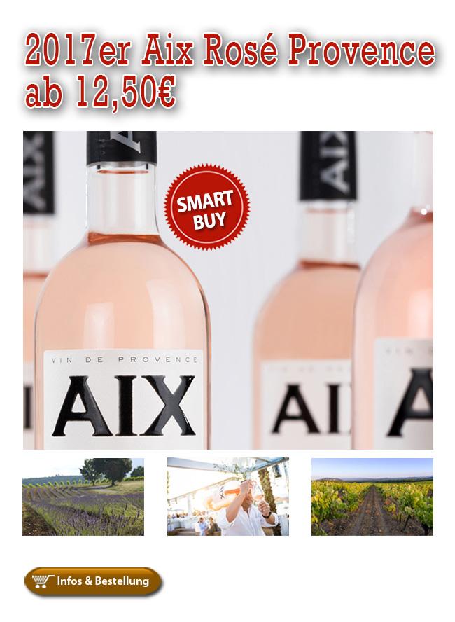 Vive la France: 2017er Aix Rosé Provence ab sofort lieferbar!