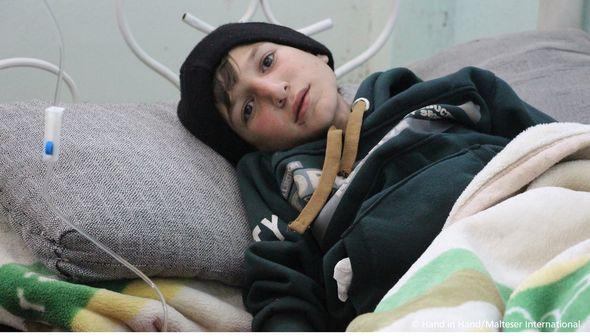 Syrie hôpital enfants