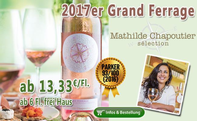 Standout Rose - 2017er Grand Ferrage von Mathilde Chapoutier
