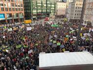 Umweltminister beraten in Hamburg - Bauern blockieren Stadt
