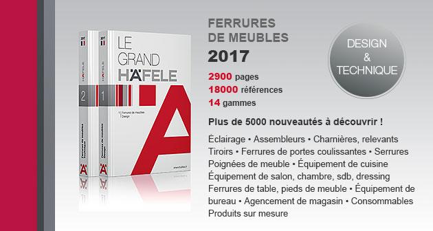 Le nouveau catalogue meuble 2017 est disponible, avec plus de 5000 nouveautés!
