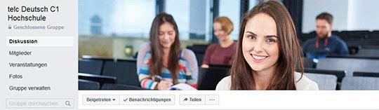 facebook-Gruppe telc, C1 Hochschule