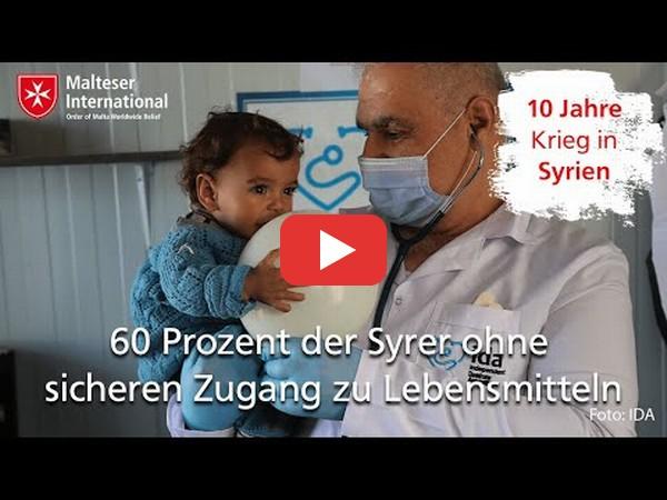 10 Jahre Krieg in Syrien: Die Situation wird immer schwieriger