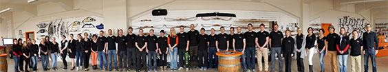 Das Team von Bogensportwelt