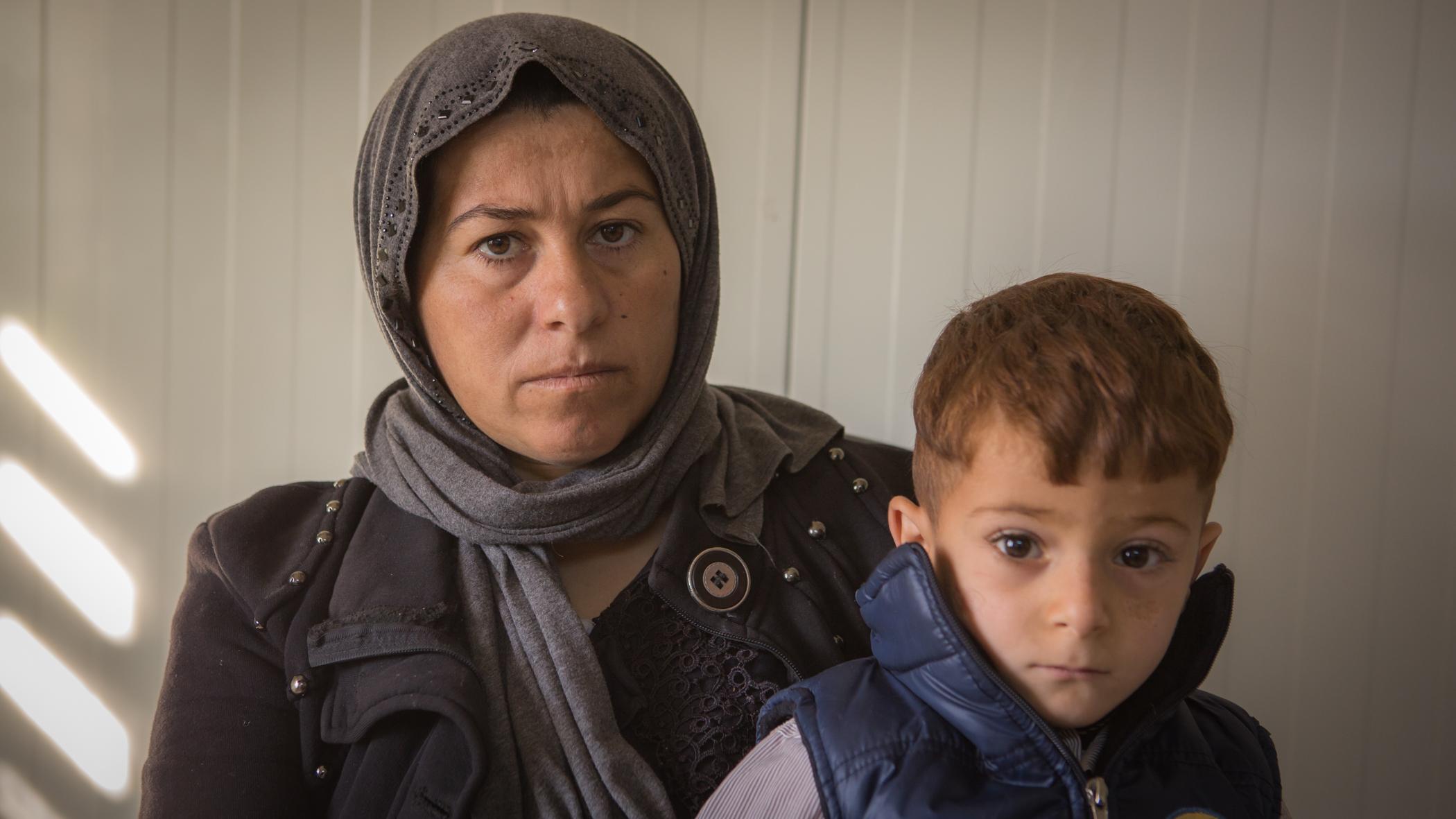 Fatima und ihr Sohn