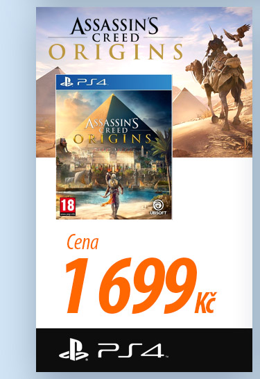 Assassin's Creed Origins na PS4