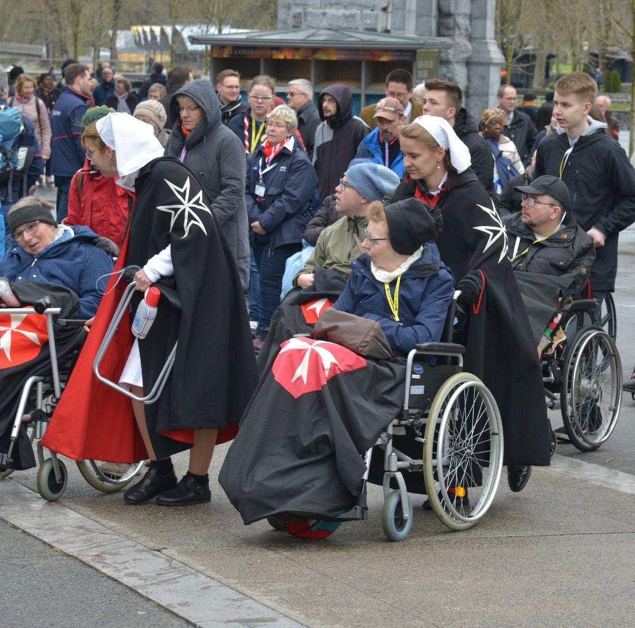Mit den Paderborner Maltesern in Lourdes