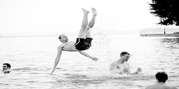 schwimmbild