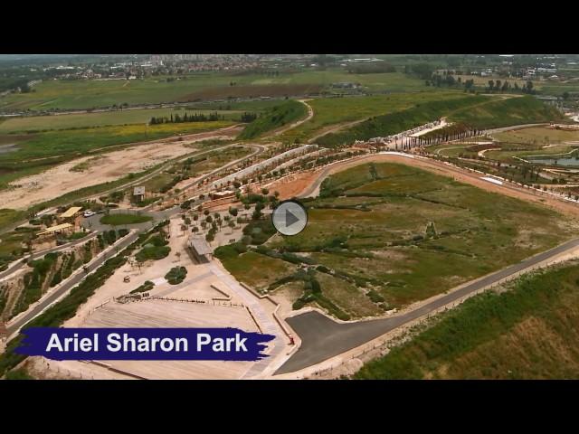 Bird's Eye View of KKL-JNF Sites around Israel